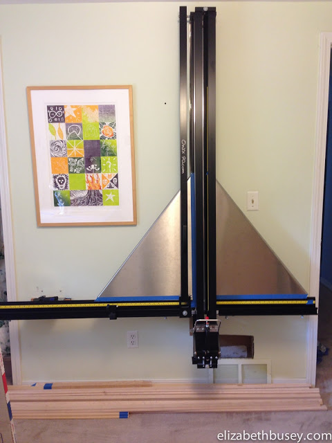 My onyx 90 Mat Cutter System makes all the detailed cutting of framing easier.