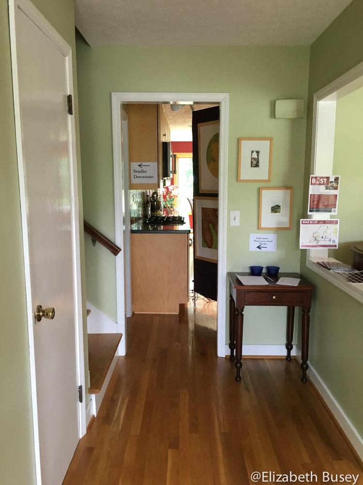 Open studios hallway