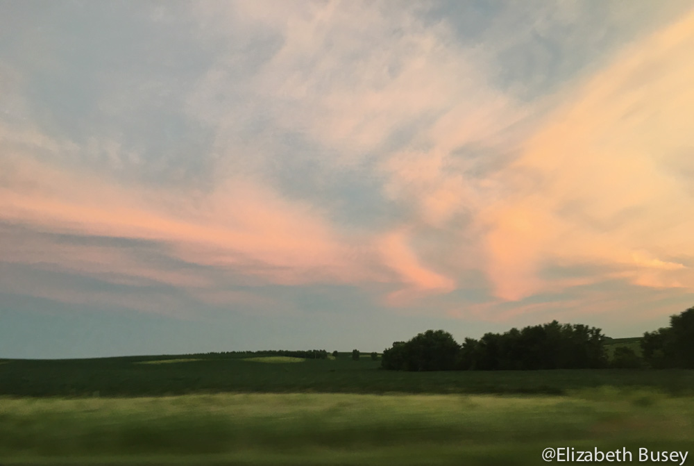 skies over iowa