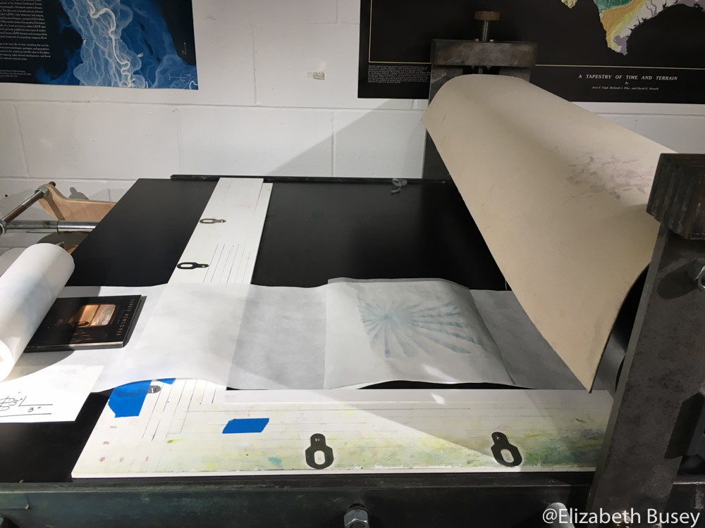 printing on roll of paper