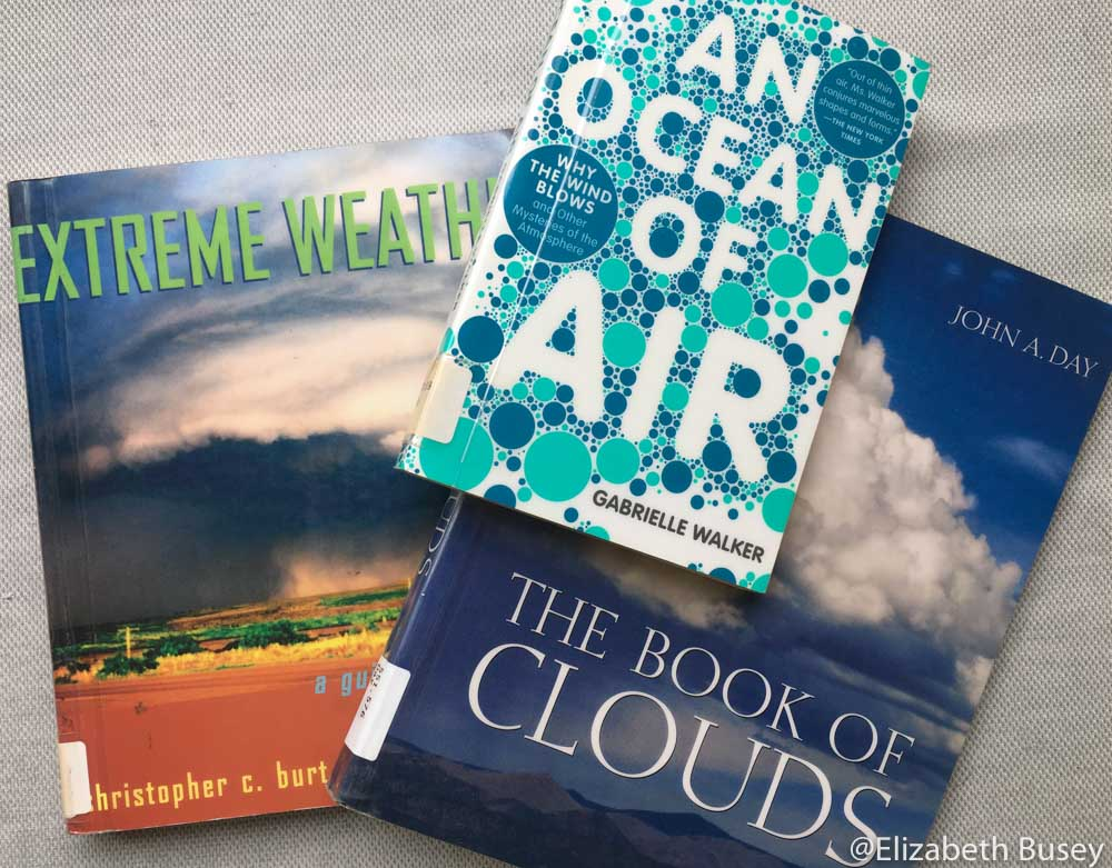 books about weather and clouds