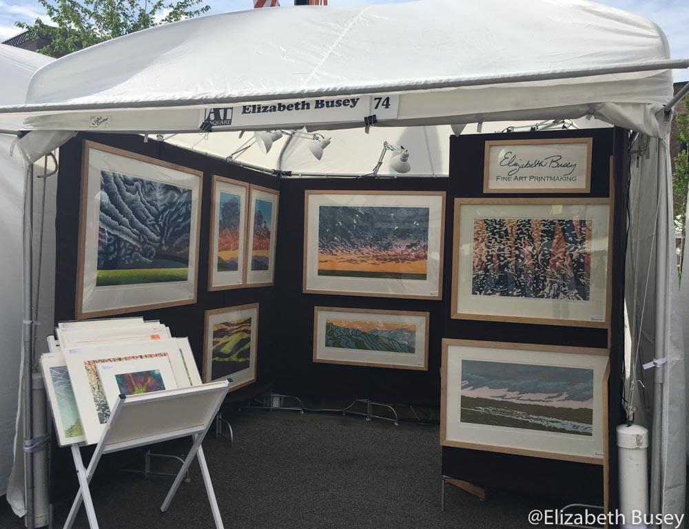 art festival tent