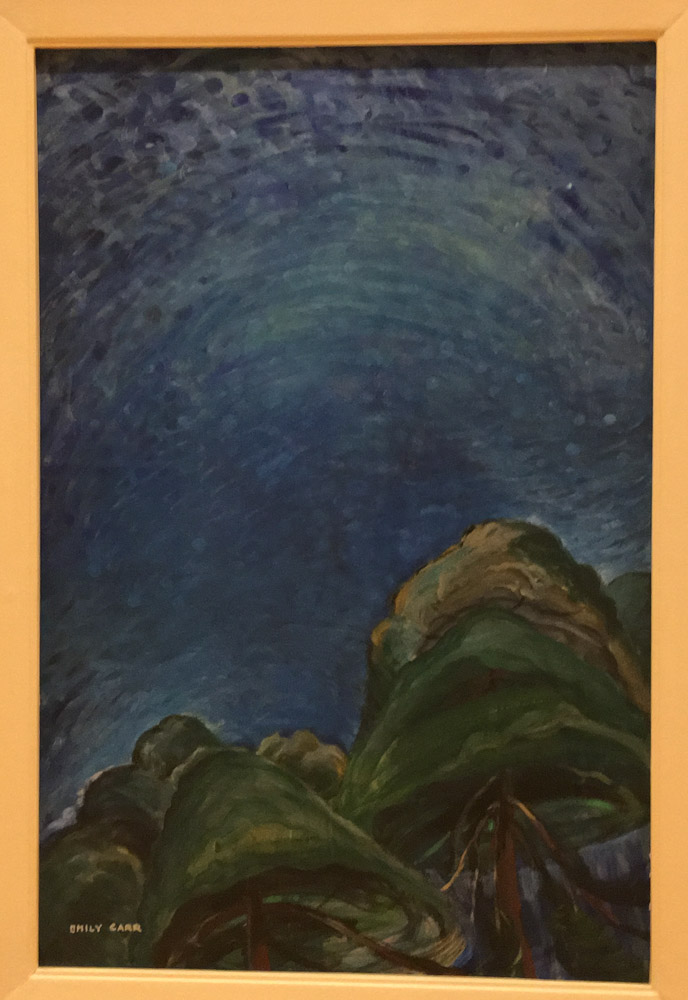 Emily Carr. Above the Trees.