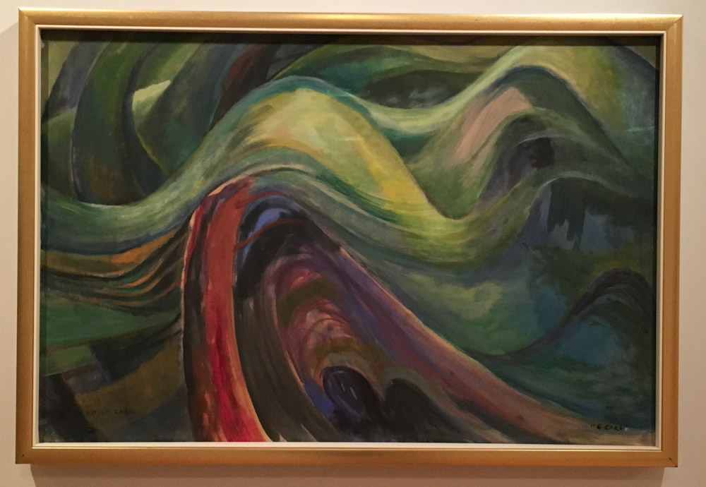 Emily Carr, Abstract Tree Forms.
