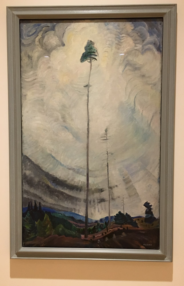 Emily Carr. Scorned as Timber, Beloved of the Sky.