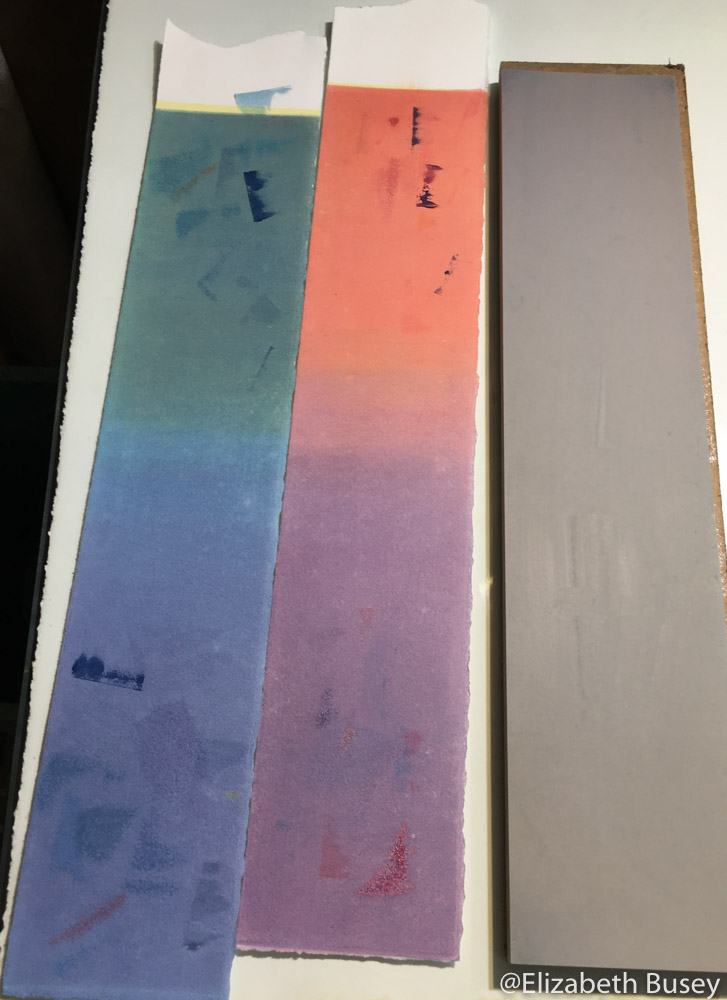 test color strips