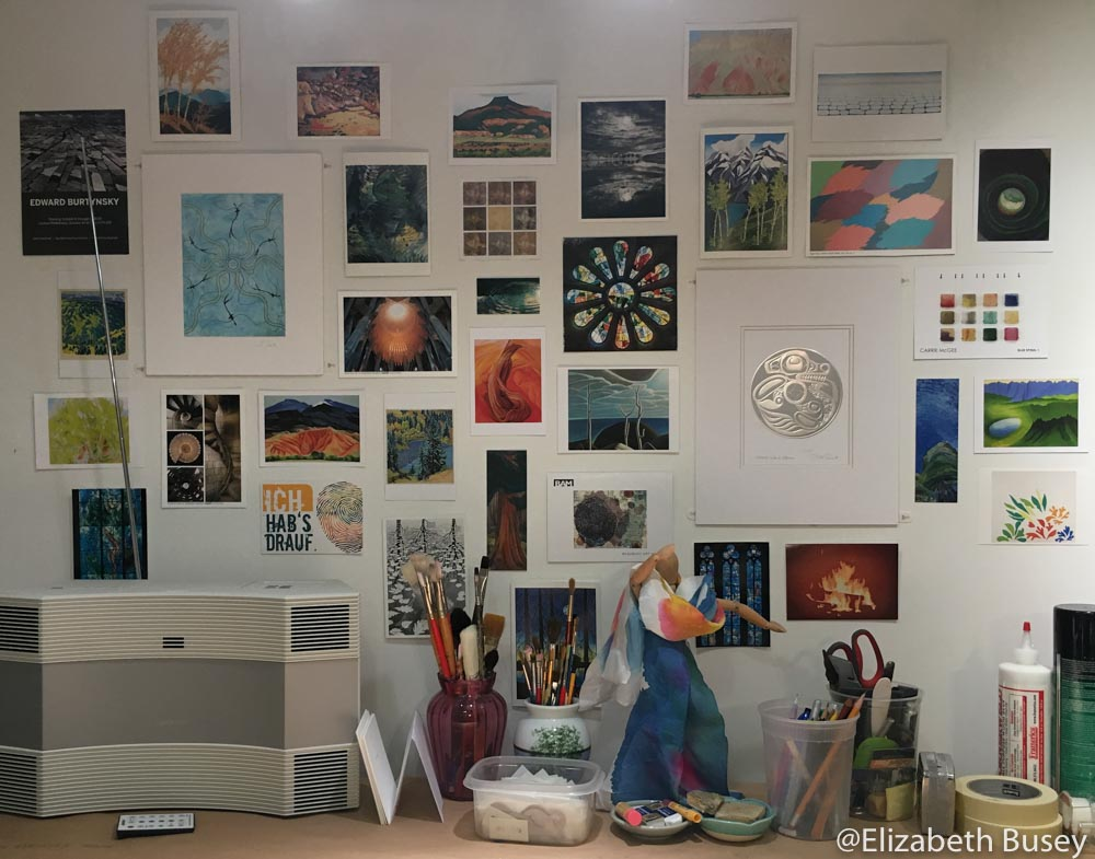 art inspiration wall